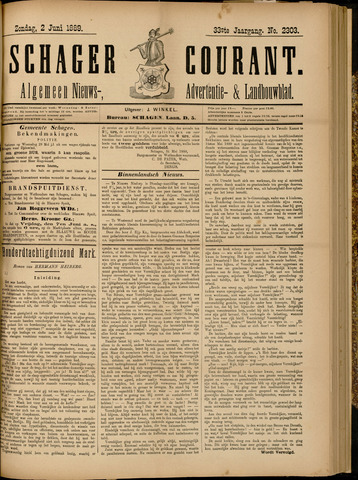 Schager Courant 1889-06-02