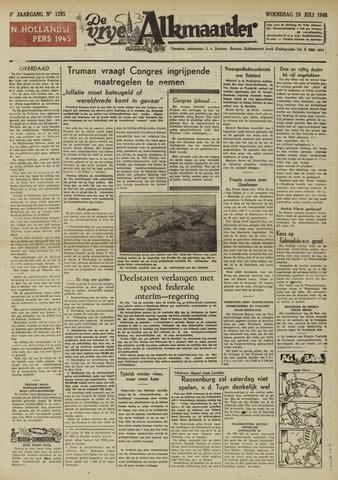 De Vrije Alkmaarder 1948-07-28