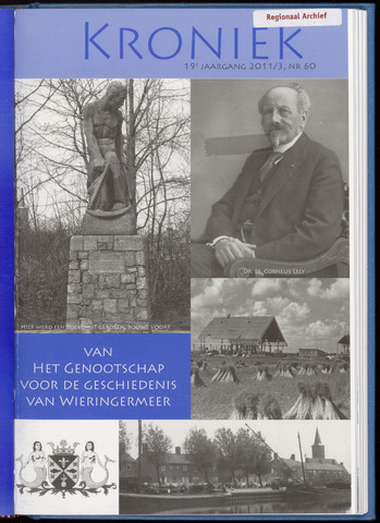 Kroniek Historisch Genootschap Wieringermeer 2011-12-01