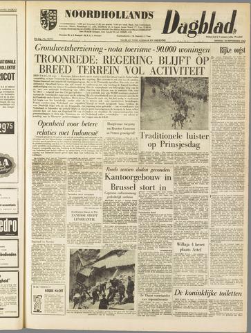 Noordhollands Dagblad : dagblad voor Alkmaar en omgeving 1962-09-18