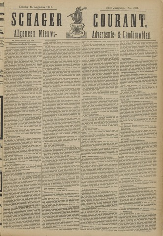 Schager Courant 1911-08-15