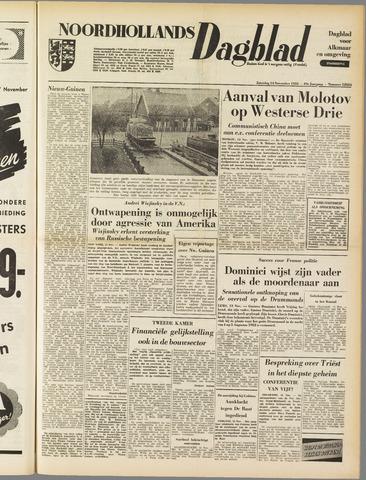 Noordhollands Dagblad : dagblad voor Alkmaar en omgeving 1953-11-14