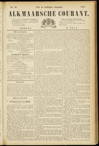 Alkmaarsche Courant 1882-07-21