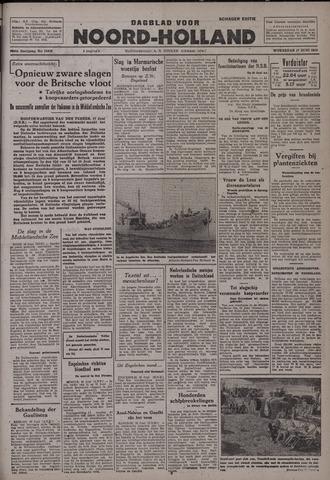 Dagblad Noord-Holland, Schager editie 1942-06-17
