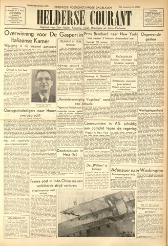 Heldersche Courant 1953-01-22