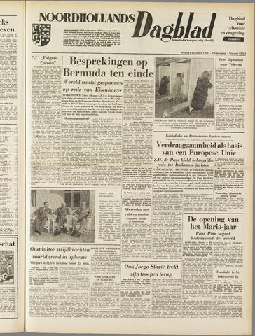 Noordhollands Dagblad : dagblad voor Alkmaar en omgeving 1953-12-08