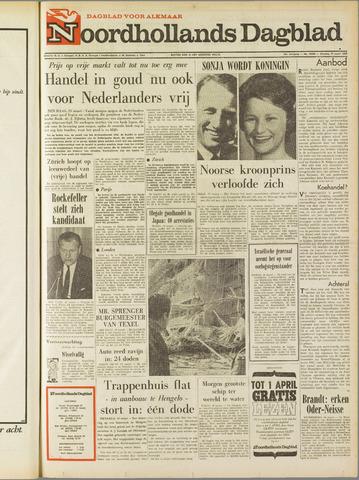 Noordhollands Dagblad : dagblad voor Alkmaar en omgeving 1968-03-19