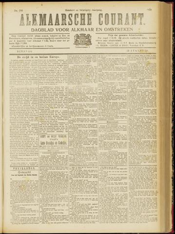Alkmaarsche Courant 1918-08-13