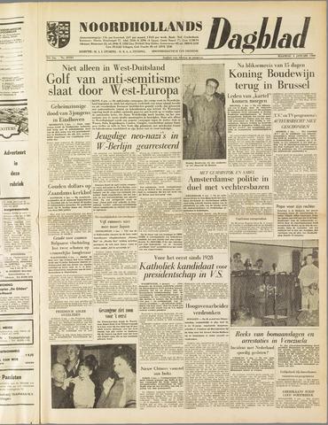 Noordhollands Dagblad : dagblad voor Alkmaar en omgeving 1960-01-04