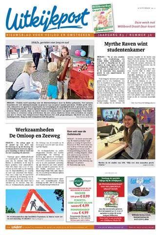 Uitkijkpost : nieuwsblad voor Heiloo e.o. 2017-09-06