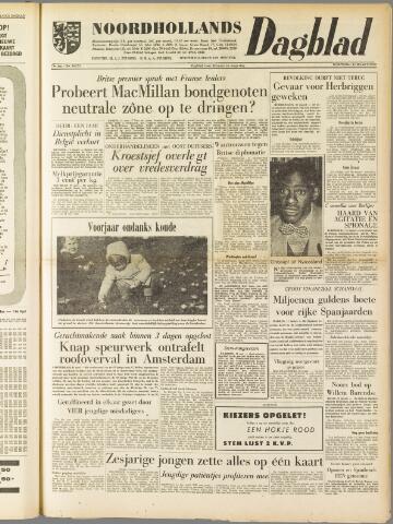 Noordhollands Dagblad : dagblad voor Alkmaar en omgeving 1959-03-11
