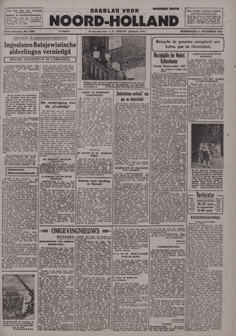 Dagblad Noord-Holland, Schager editie 1942-12-17