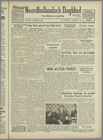 Nieuw Noordhollandsch Dagblad : voor Alkmaar en omgeving 1946-09-09