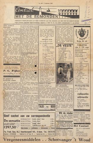 Contact met de Egmonden 1965-09-02