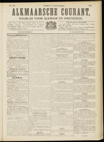 Alkmaarsche Courant 1908-08-13