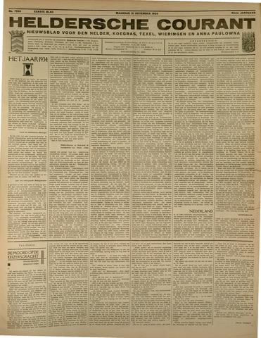 Heldersche Courant 1934-12-31