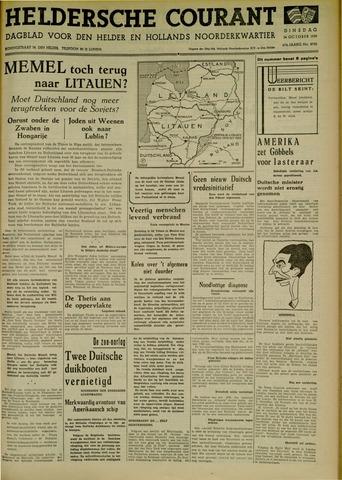 Heldersche Courant 1939-10-24