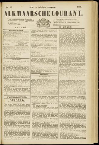 Alkmaarsche Courant 1886-03-26