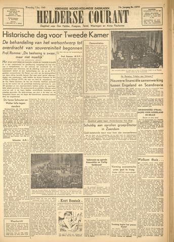Heldersche Courant 1949-12-07
