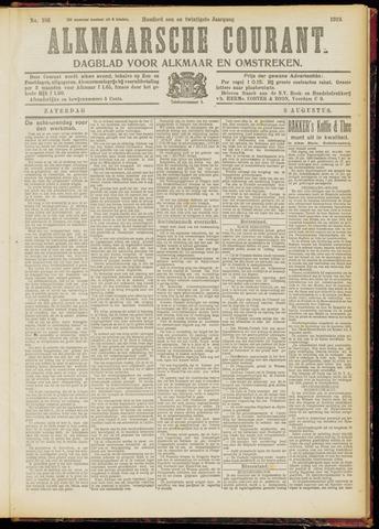 Alkmaarsche Courant 1919-08-09