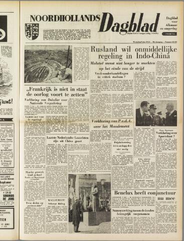 Noordhollands Dagblad : dagblad voor Alkmaar en omgeving 1954-06-09