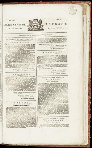 Alkmaarsche Courant 1822-08-12