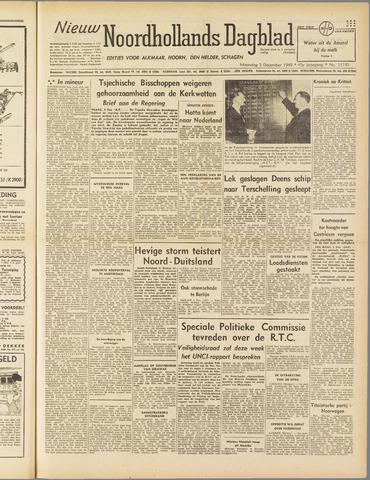 Nieuw Noordhollandsch Dagblad : voor Alkmaar en omgeving 1949-12-05