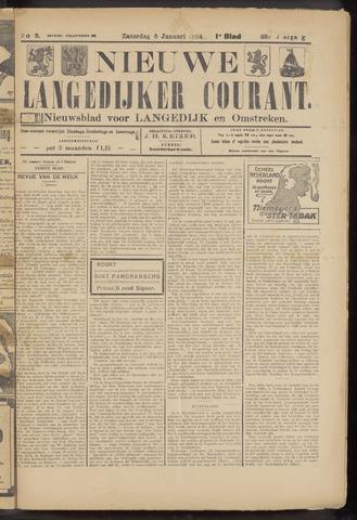 Nieuwe Langedijker Courant 1924-01-05
