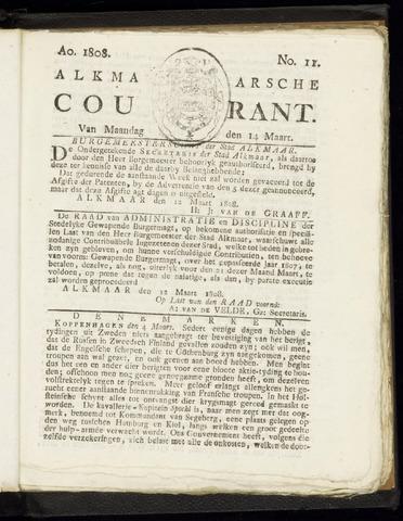 Alkmaarsche Courant 1808-03-14