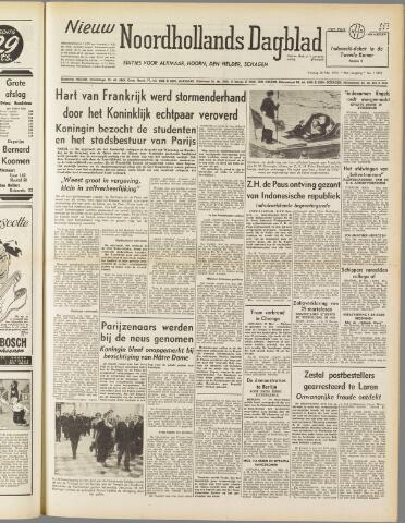 Nieuw Noordhollandsch Dagblad : voor Alkmaar en omgeving 1950-05-26