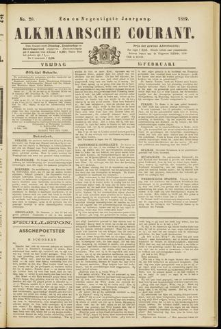 Alkmaarsche Courant 1889-02-15