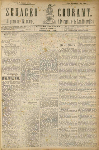 Schager Courant 1904