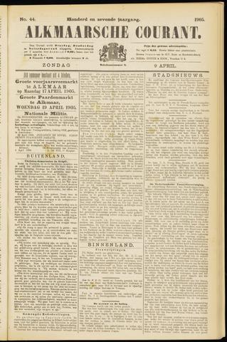 Alkmaarsche Courant 1905-04-09