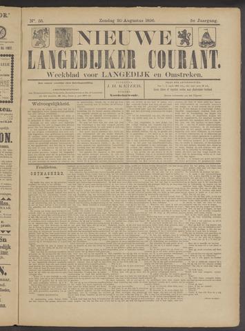 Nieuwe Langedijker Courant 1896-08-30