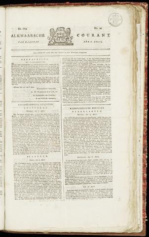 Alkmaarsche Courant 1822-04-22