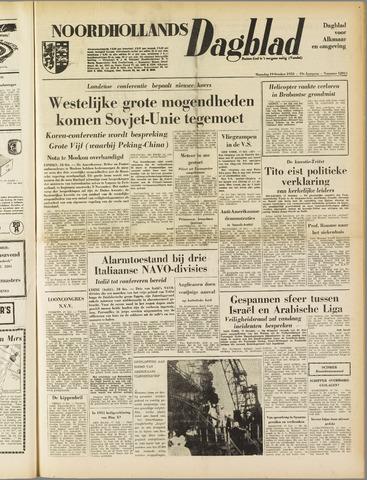 Noordhollands Dagblad : dagblad voor Alkmaar en omgeving 1953-10-19