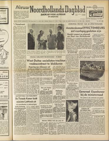 Nieuw Noordhollandsch Dagblad : voor Alkmaar en omgeving 1952-05-21