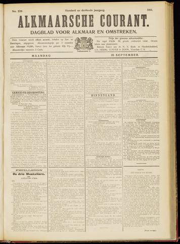 Alkmaarsche Courant 1911-09-25