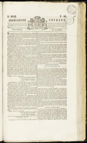 Alkmaarsche Courant 1841-11-15