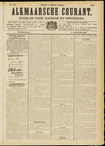 Alkmaarsche Courant 1913-09-17