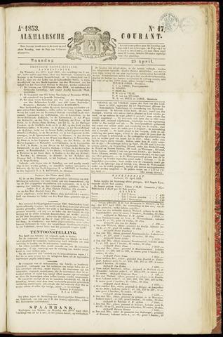 Alkmaarsche Courant 1853-04-25