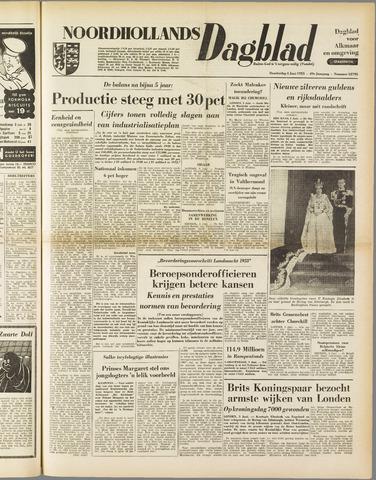 Noordhollands Dagblad : dagblad voor Alkmaar en omgeving 1953-06-04