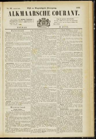 Alkmaarsche Courant 1893-06-11