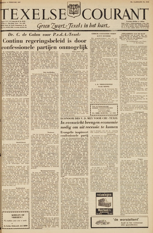 Texelsche Courant 1967-02-14