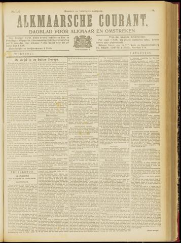 Alkmaarsche Courant 1918-08-07