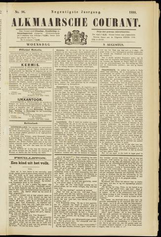 Alkmaarsche Courant 1888-08-08