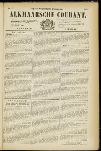 Alkmaarsche Courant 1893-02-08