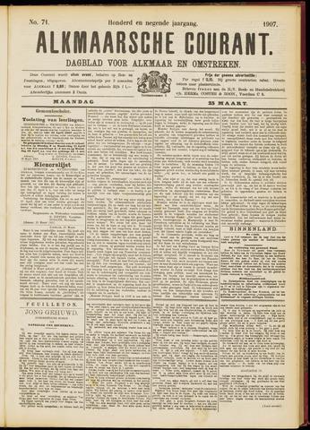 Alkmaarsche Courant 1907-03-25