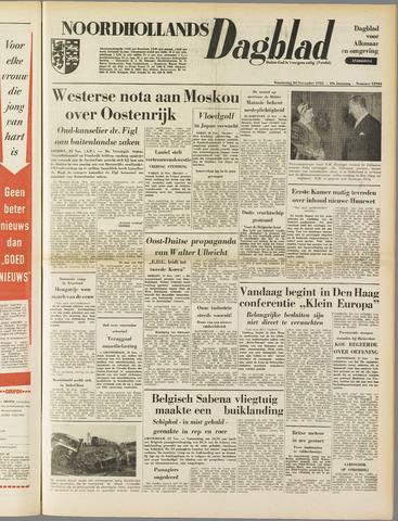 Noordhollands Dagblad : dagblad voor Alkmaar en omgeving 1953-11-26