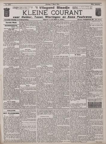 Vliegend blaadje : nieuws- en advertentiebode voor Den Helder 1914-03-07